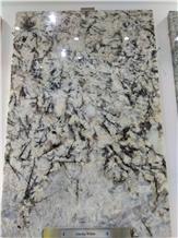 Alaska White Granite Slabs, Tiles