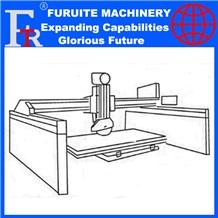 Frt-600 Hydraulic Laser Marble Bridge Saw Machines
