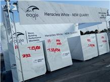 Heraclea White Marble Blocks