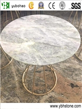 Athen Grey/Polished Rould Table Top for Decoration