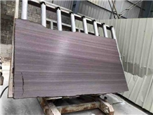 Purple Sandstone Leather Finished and Honed
