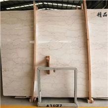 Polished Shell Crema Stone Agave Beige Marble