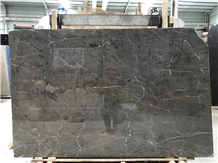 New Polished Sicily Grey Marble Big Slabs for Wall