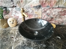 Marble Polished Round Sinks & Basins for Kitchen