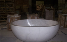 White Marble Bathtub House, Hotel Application