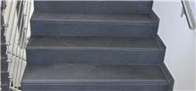 Gottor Black Sandstone Steps, Stair Risers