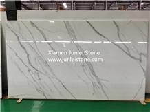 Calacatta Crystallized Marble Stone