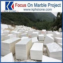 Lincoln White Marble Block