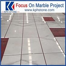 New Lincoln White Marble Tile for Flooring