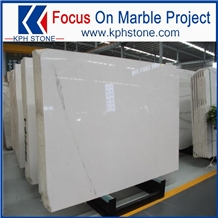 Owe Quarry New Lincoln White Marble Slab