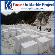 Top Quality New Lincoln White Marble Blocks