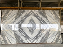 Bookmatched Marble Stone