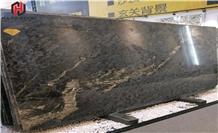Brown Mozambique Granite Big Slabs Wall Floor Tile
