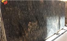 Polished Aruba Gold Granite Big Slabs 2cm