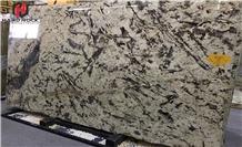 White Glimmer Granite Slabs,Wall Cladding Tiles