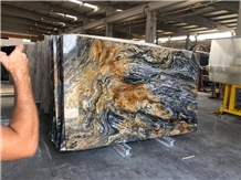Nero Picasso Marble Slabs
