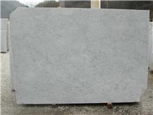 Bianco Carrara La Facciata Marble Slabs, Tiles