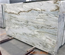 Tropical Blue Sky Marble Polished Slabs