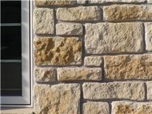 Winfield Limestone Mixed Castlerock Wall Panels