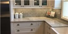 Bianco Superiore Quartzite Kitchen Countertop