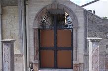 Grigio San Marco Marble Masonry, Building