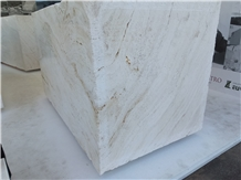 Bianco Sibillino Travertine Blocks