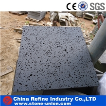 Black Lava Stone Flooring Paving Slab and Tiles
