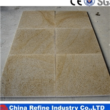 China Sunset Gold G682 Yellow Granite Tiles