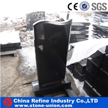 Chinese Absolute Black Polished Monument