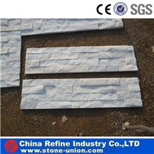 Crystal White Quartzite Culture Stone, Ledge Stone