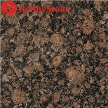 Finland Baltic Brown Granite Tile for Floor Paving