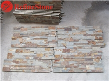Multicolor Slate Natural Surface Veneer Stone
