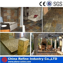 Natural Rusty Slate Tiles Size and Cheap Price