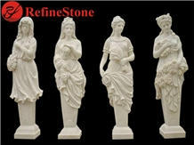 Western Style Marble Stone Woman Statue for Sale