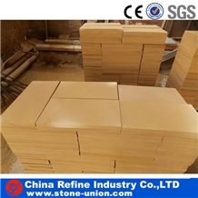 Yellow Sandstone Wall Paving Stone