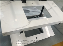 Artificial Marble Microcrystallized Countertops