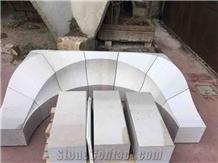 Biancone Apricena Solid Door Arc