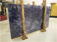 Azul Diva Dark Blue Sodalite Polished Marble Slabs