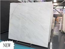 China Ceramic White Marble Slab,New Bianco Royal
