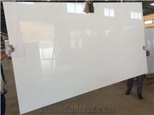 Pure White Nano Crystallized Slab,Artificial Glass Stone