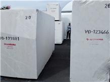 Vigaria White Marble Rough Blocks