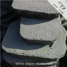 Zhangpu Black Basalt,Catpaw Floor,Paver
