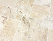 Picasso Ivory Pattern Set Travertine