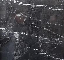 Toros Black Marble Slab