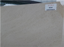 New Santenoy Limestone Slabs, Tiles