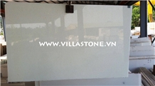Viet Nam Pure White Marble,Crystal,Slabs,Flooring