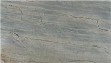 Ocean Blue Quartzite Slabs, Tiles