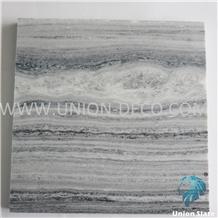 Chinese Cloudy Gray Quartzite Slab 30x30cm