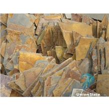 Rusty Irregular Outdoor Slate Stepping Stones