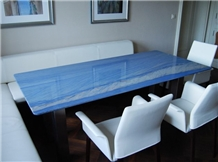Azul Macaubas Quartzite Countertop